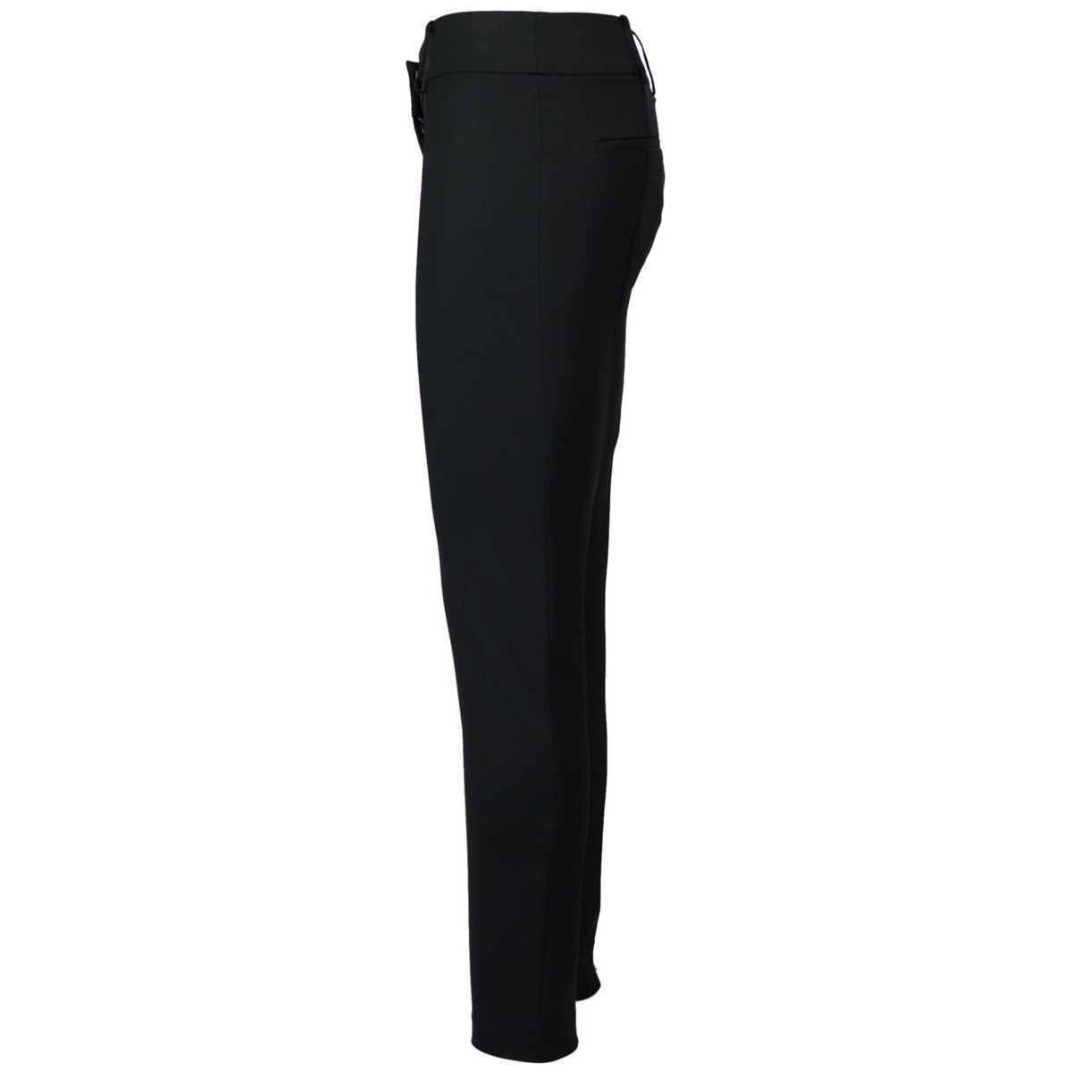 Classic slim-fit trousers in cotton blend Black Patrizia Pepe