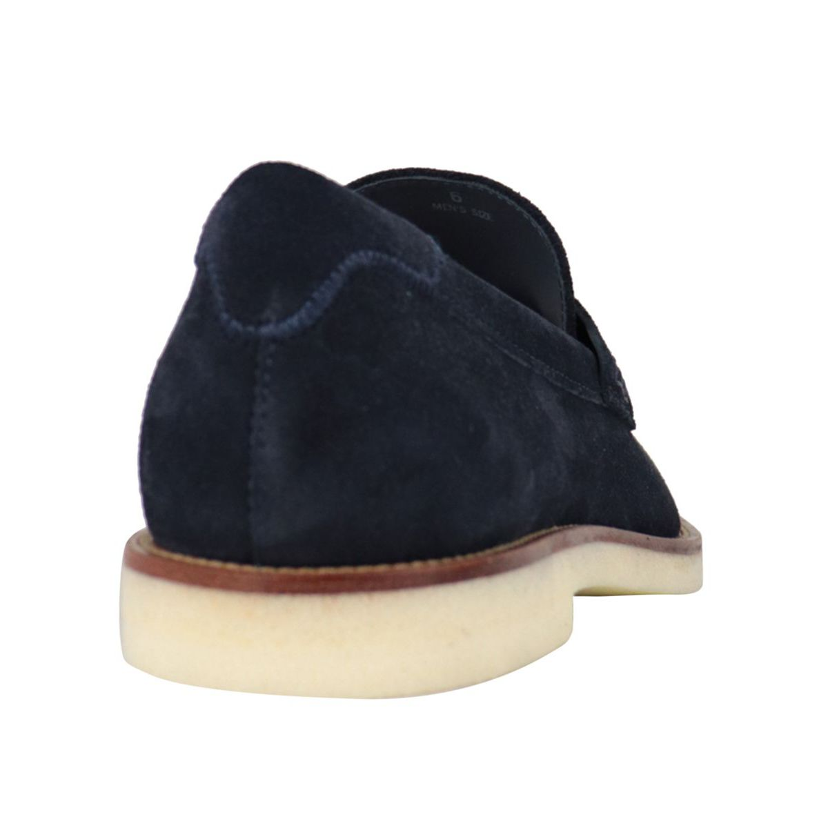 Business Casual suede loafer Navy Hogan