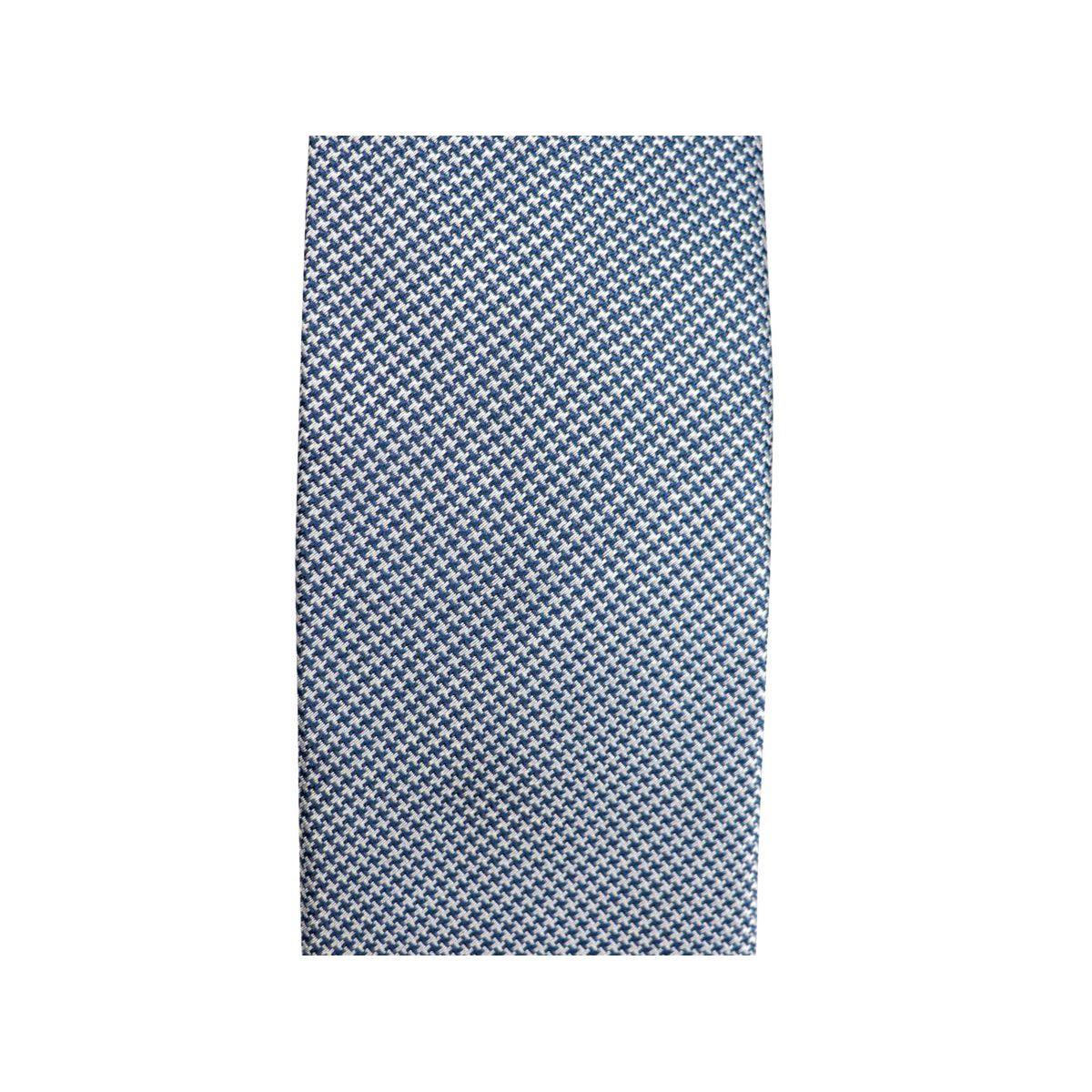 CM 7 bicolor micro patterned silk tie Silver Church's