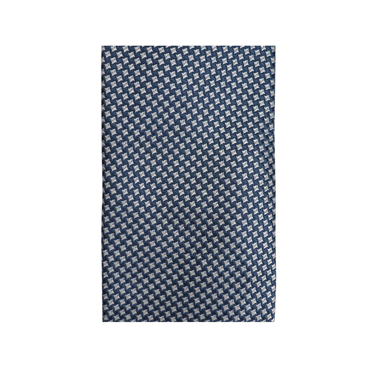 Micro patterned silk tie CM 7 Blue Church's