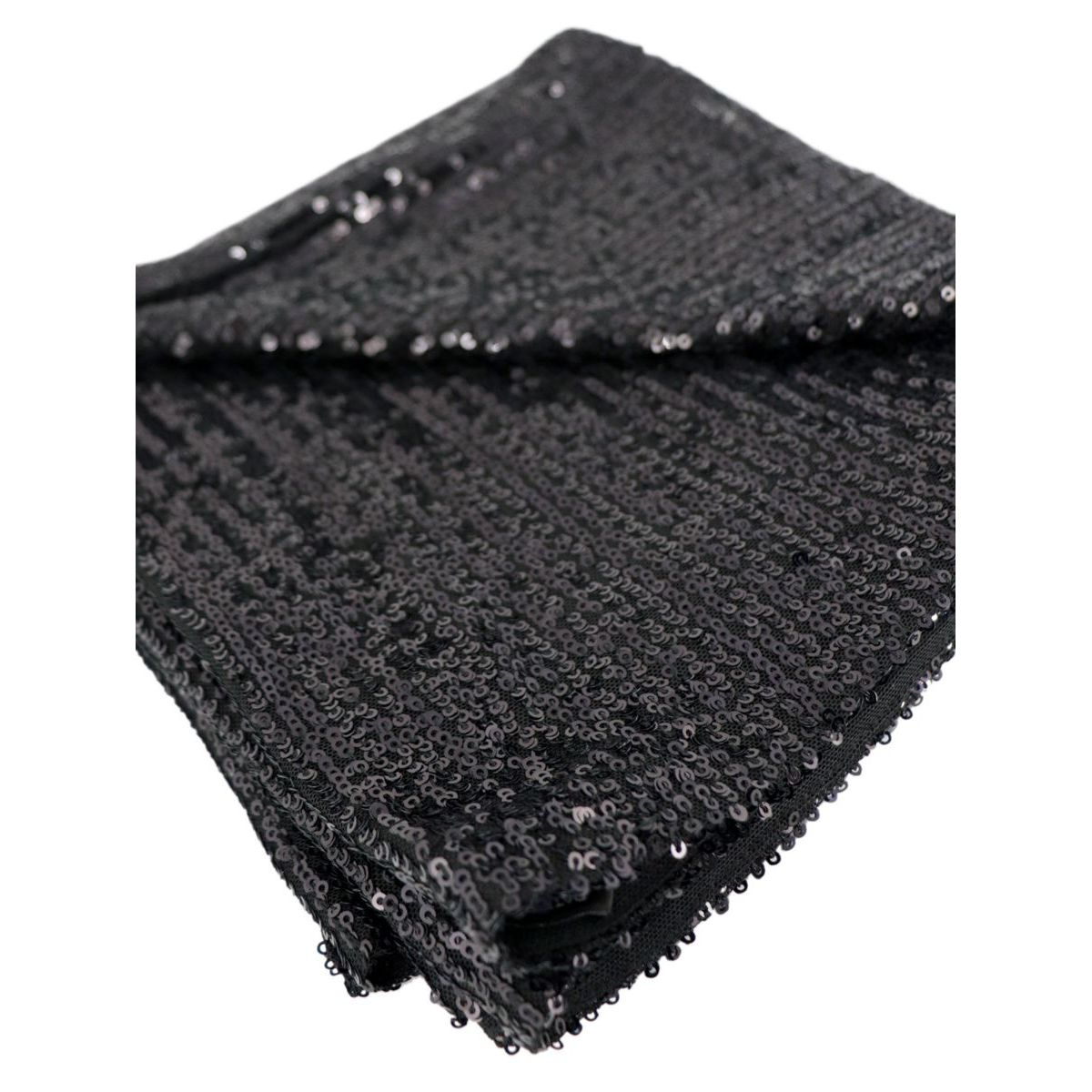 Full sequin georgette scarf Black Patrizia Pepe