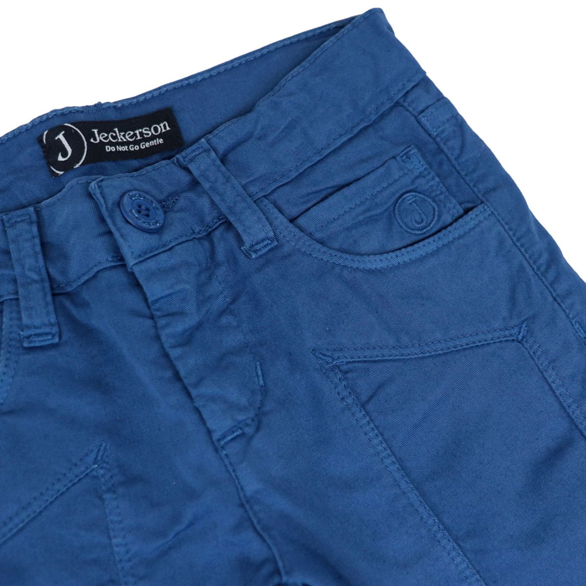 Trousers with 5 pockets in gabardine with patch Royal Jeckerson