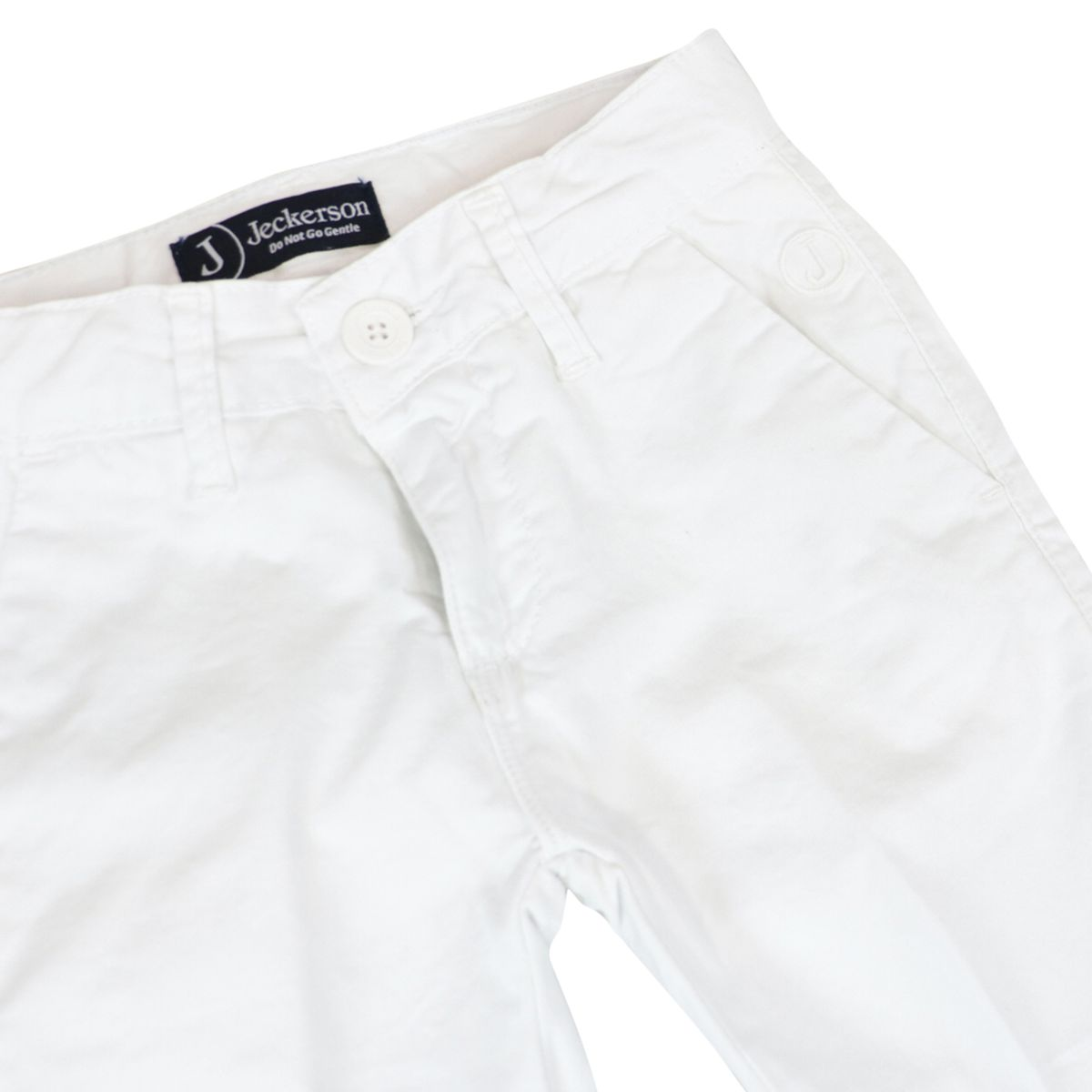 Cinos gabardine trousers with america pocket White Jeckerson