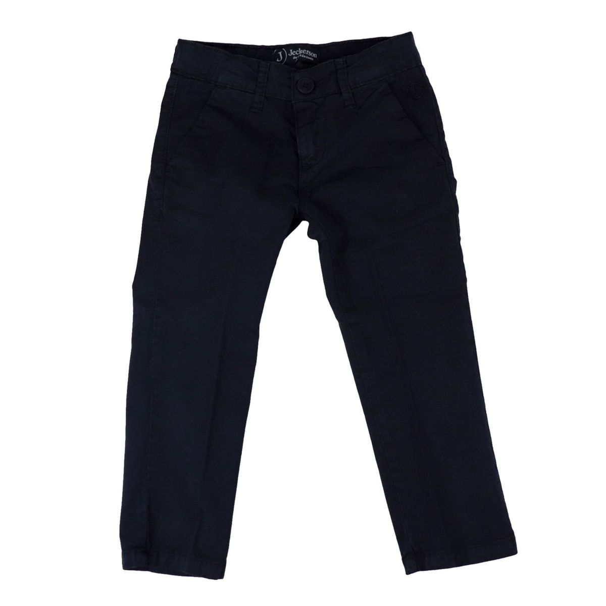 Cinos gabardine trousers with america pocket Blue Jeckerson