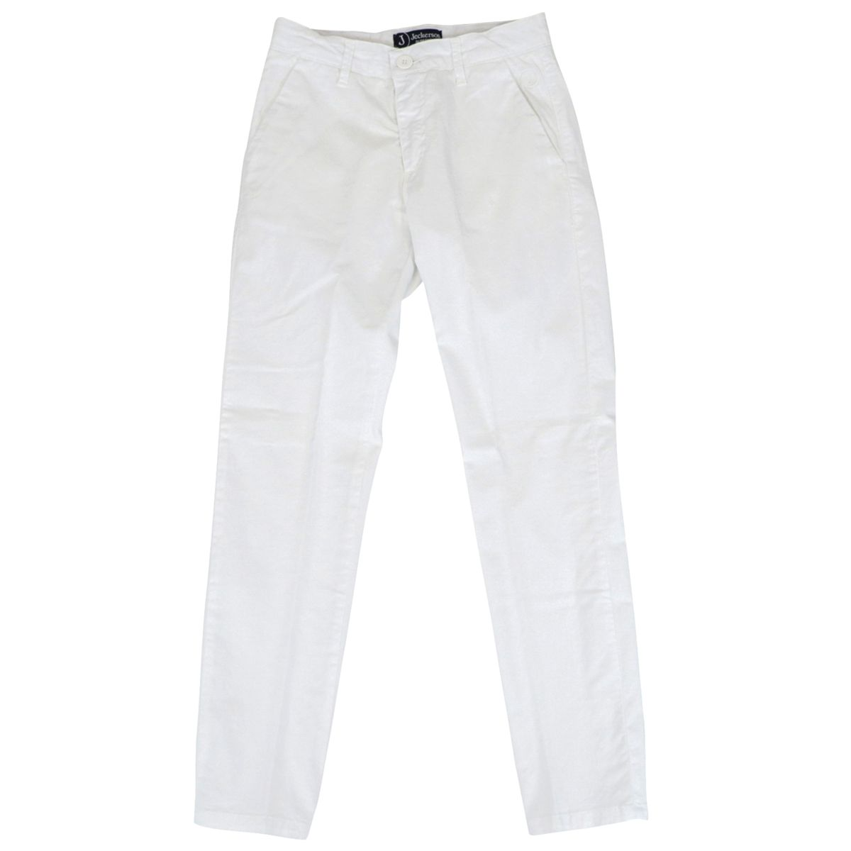 Chinos trousers in gabardine White Jeckerson