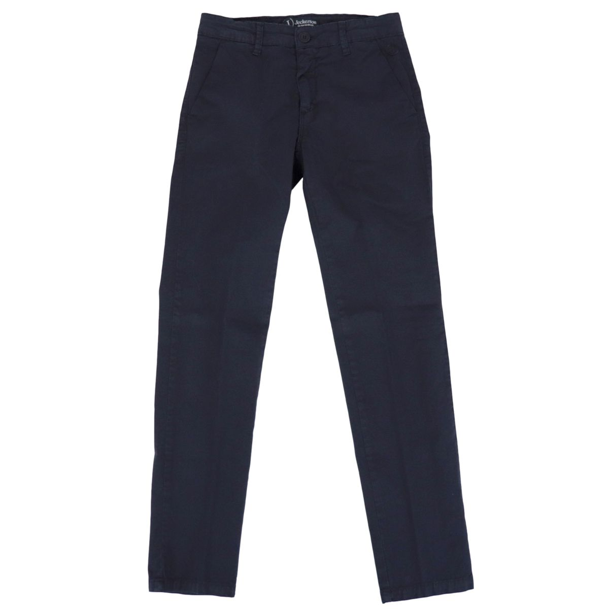 Chinos trousers in gabardine Blue Jeckerson