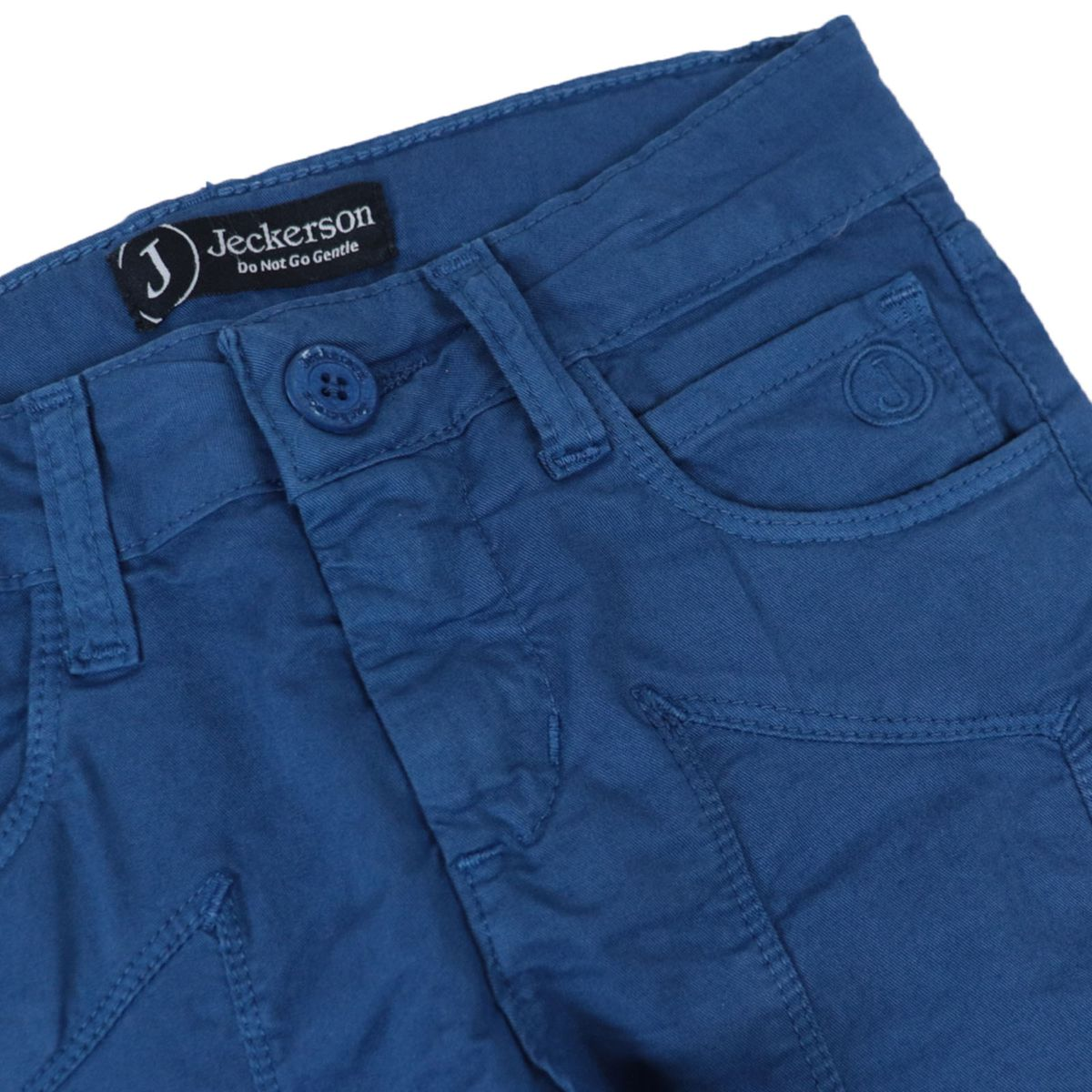 Gabardine bermuda with matching patch Royal Jeckerson