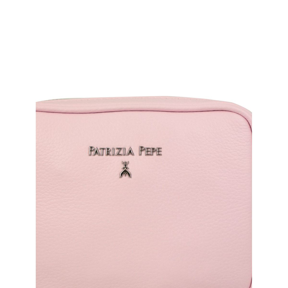Beauty in textured leather Peony Patrizia Pepe