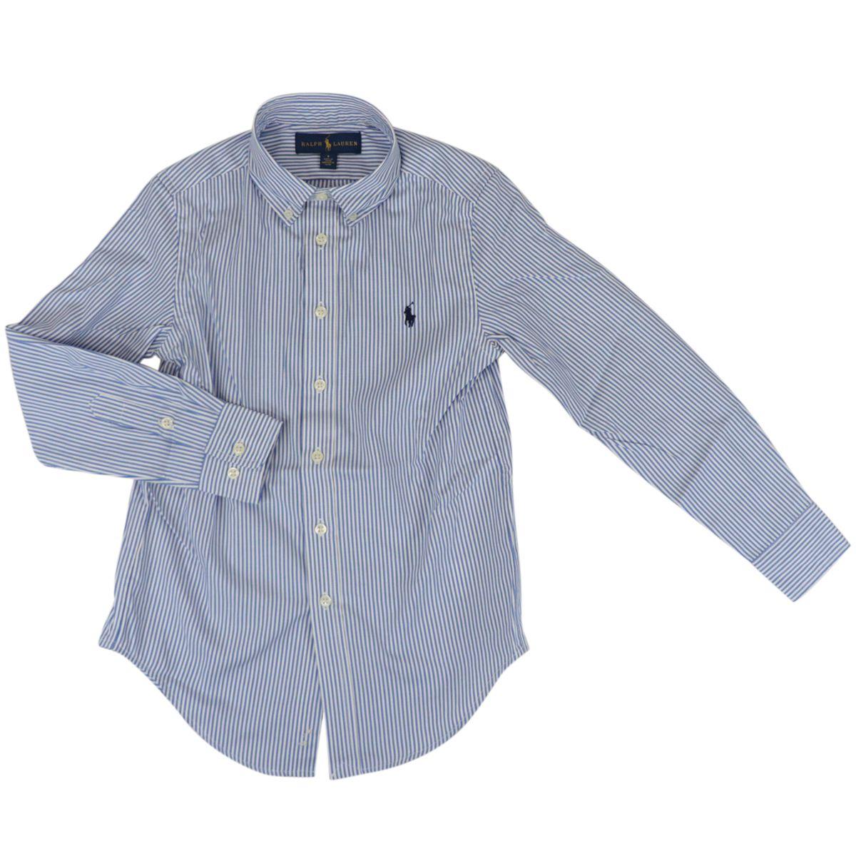 Cotton shirt with botton down collar Blue / white Polo Ralph Lauren