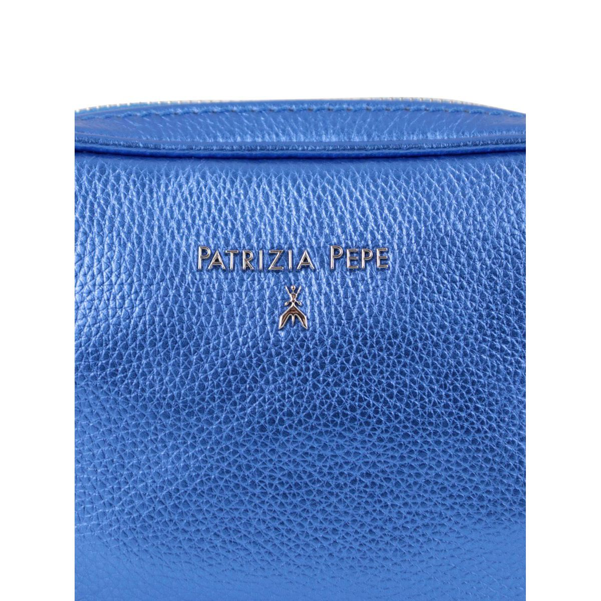 Shoulder strap in metal leather Bluette Patrizia Pepe