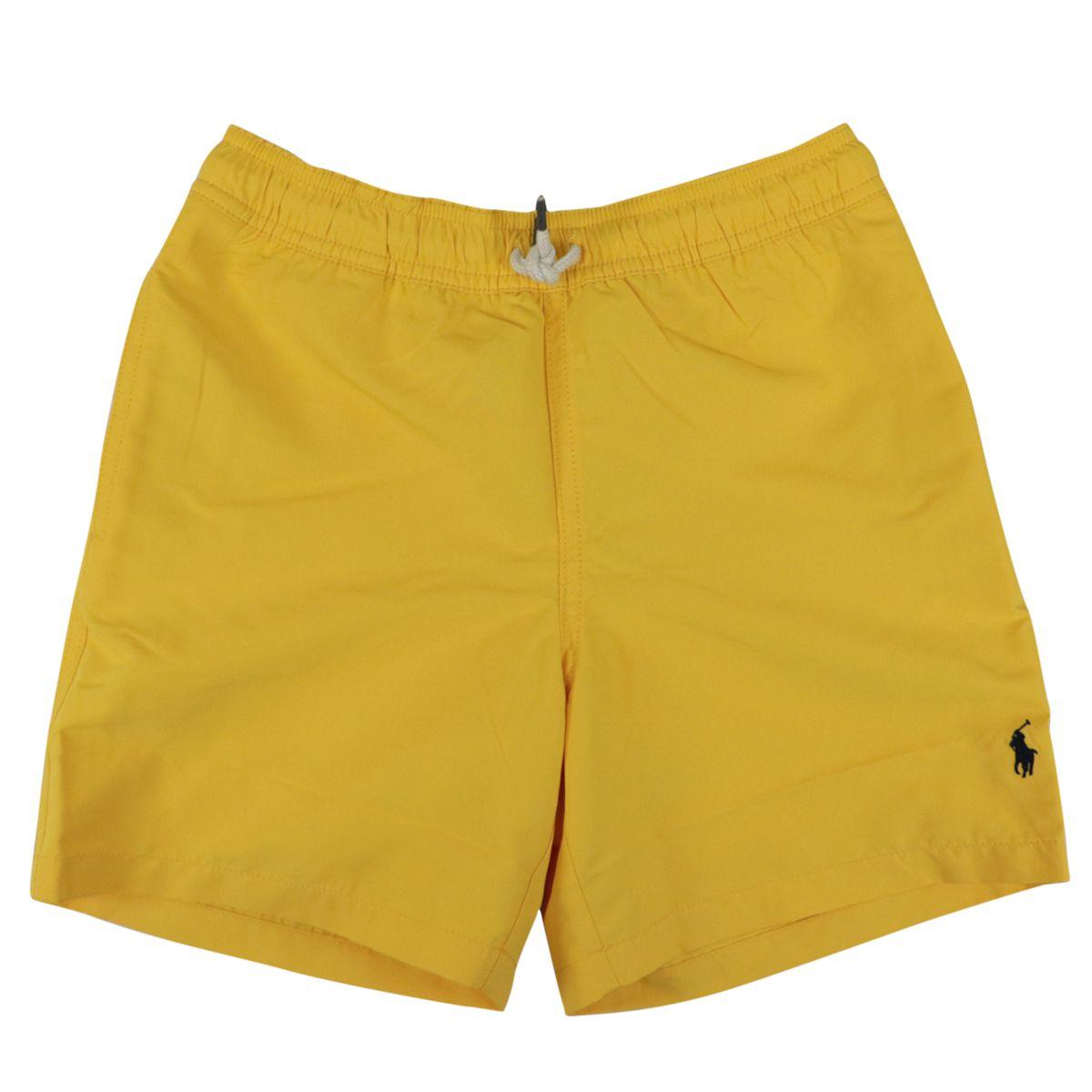 Nylon boxer costume with logo print Yellow Polo Ralph Lauren