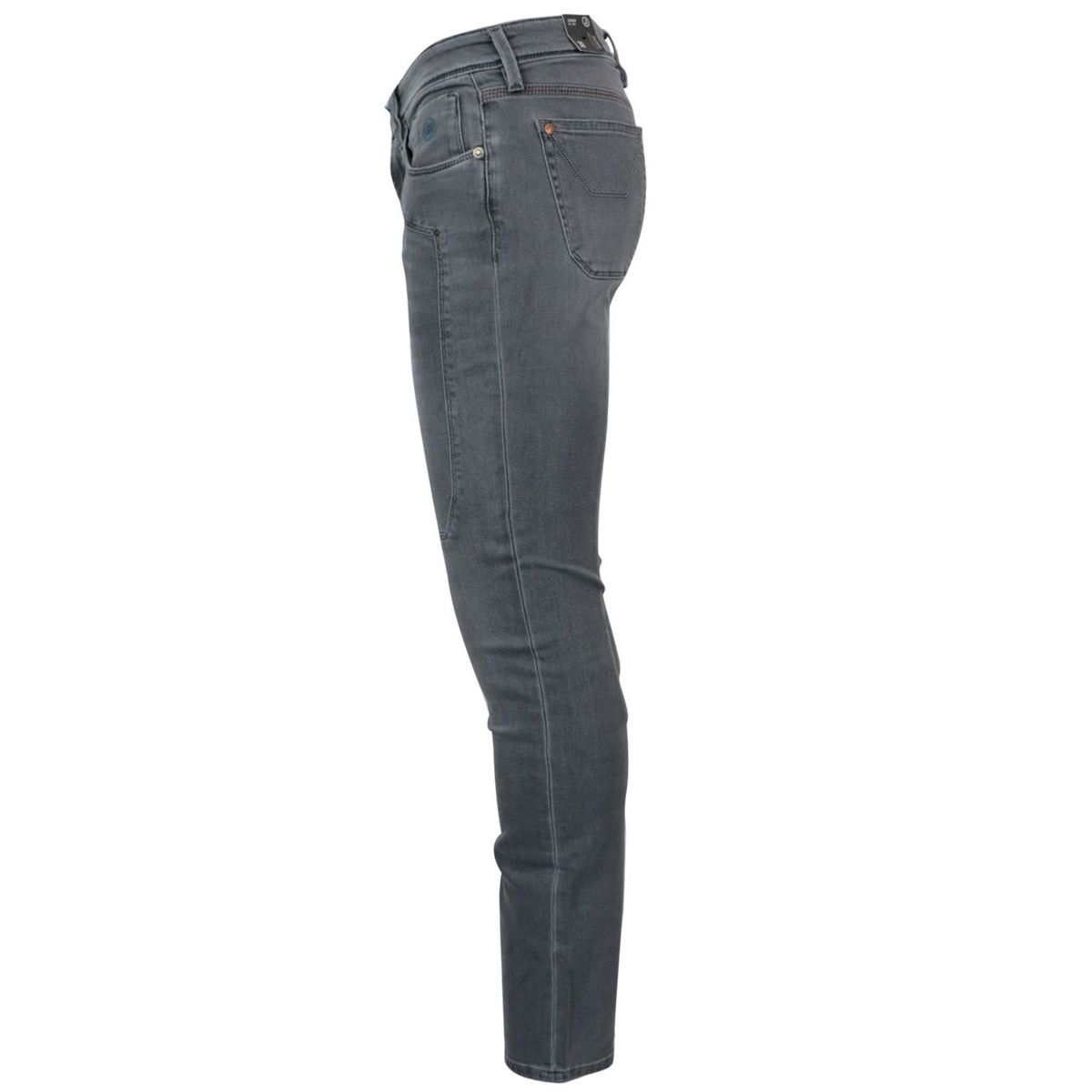 Slim jeans with 5-pocket patch Grey Jeckerson