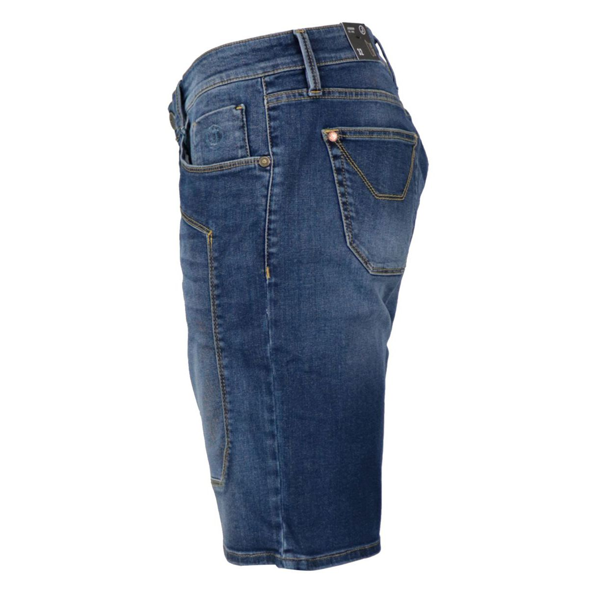 Denim shorts with 5-pocket patch Denim Jeckerson