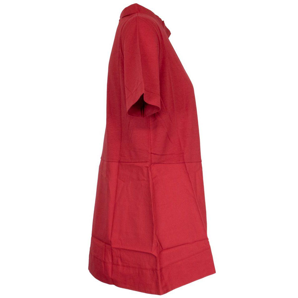 Tiffany cotton sweater India red Alpha Studio