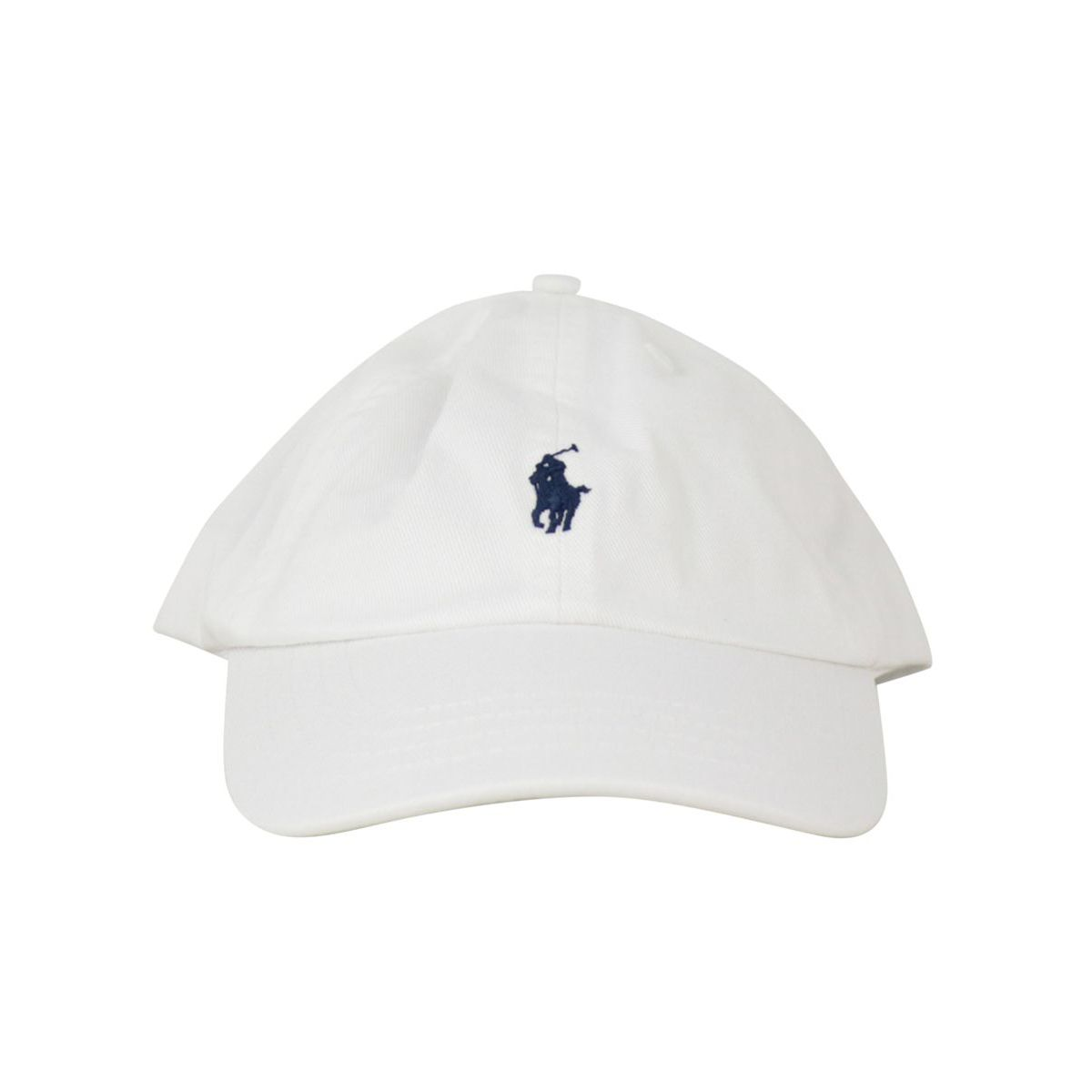 Cotton cap with contrasting embroidered logo White Polo Ralph Lauren