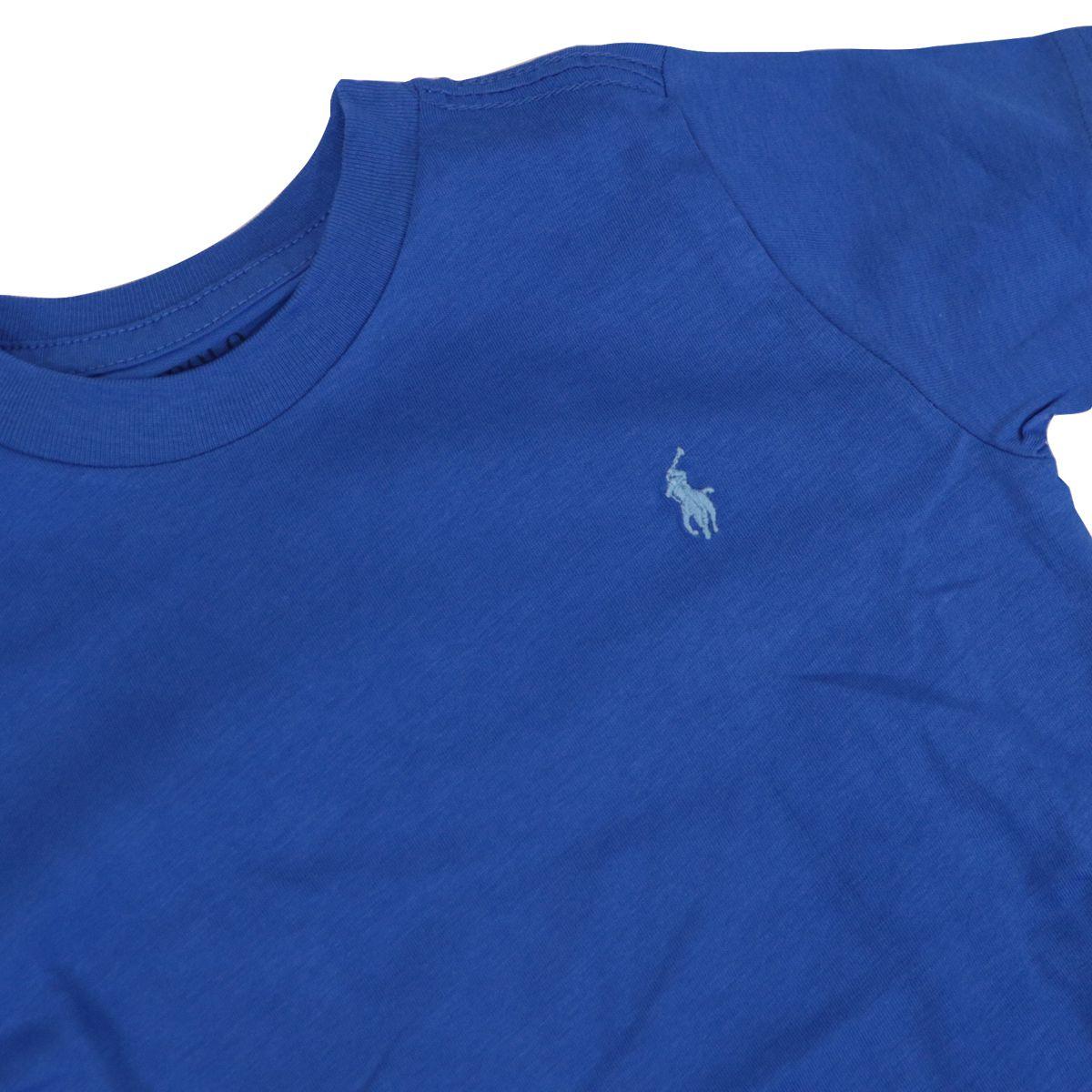 Basic cotton crew-neck t-shirt with logo Royal Polo Ralph Lauren