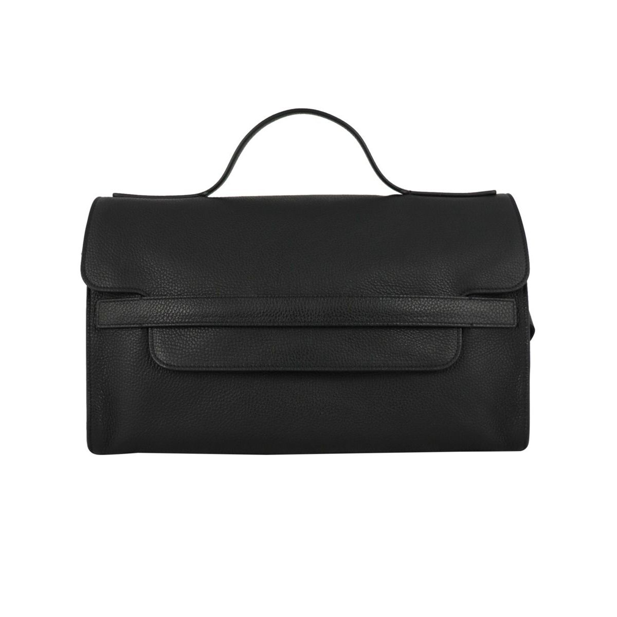 Nina bag with shoulder strap Black Zanellato