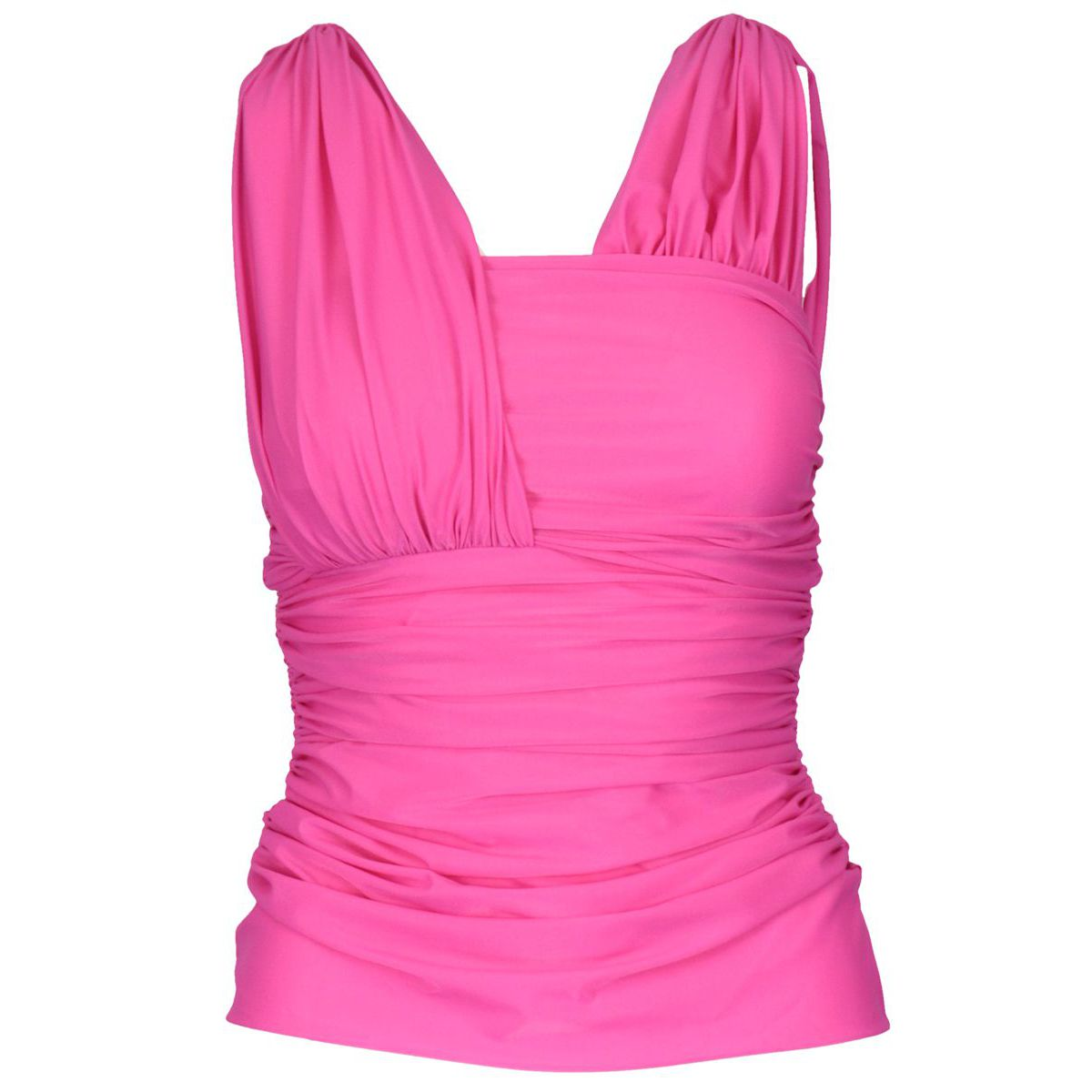 Stretch Lalabel top Fuchsia Pinko