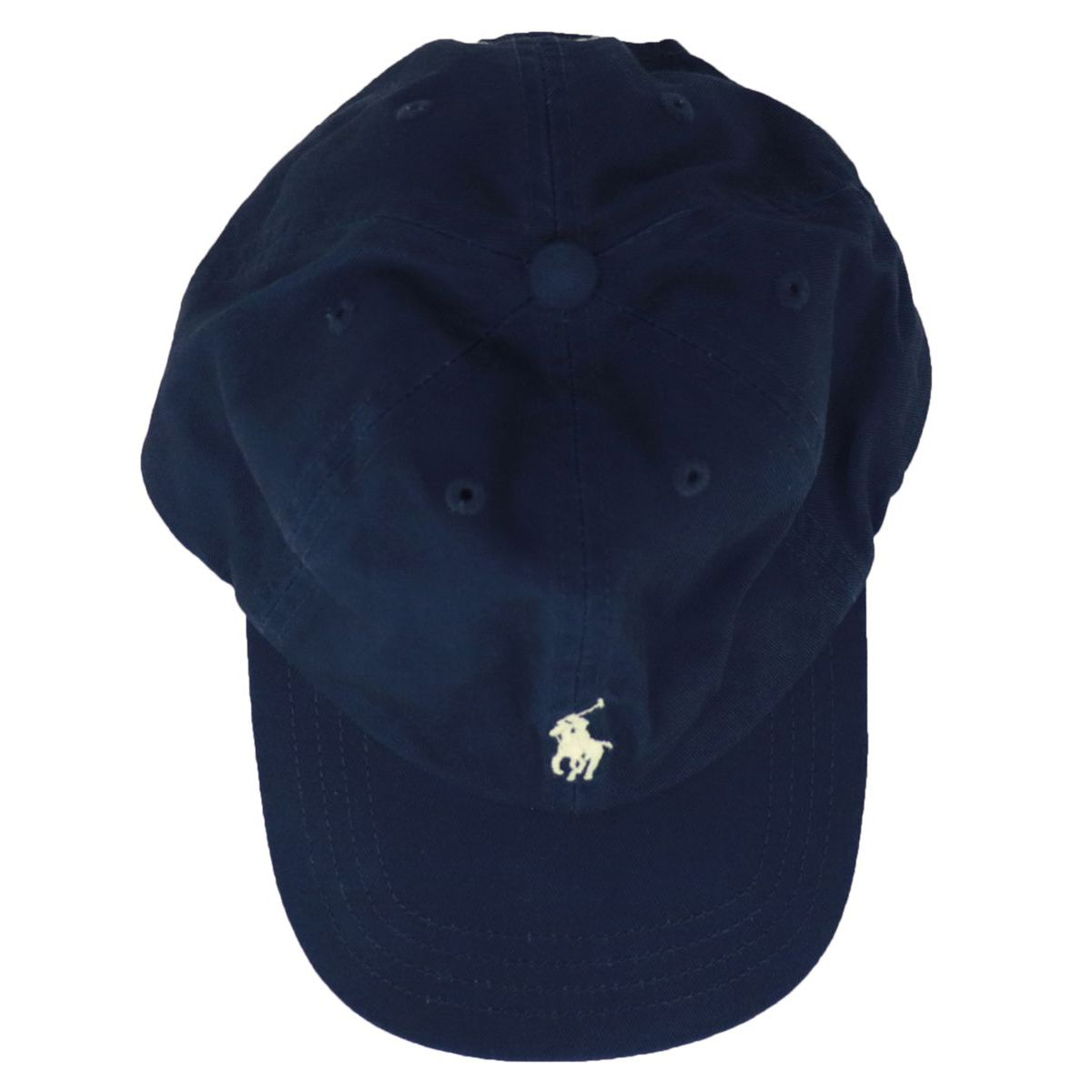 Cotton cap with visor and logo embroidery Navy Polo Ralph Lauren