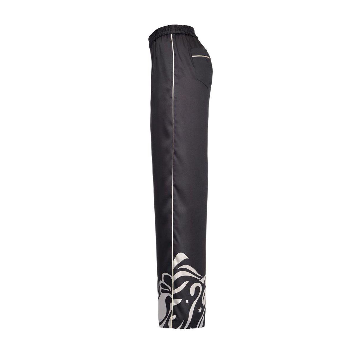 Koda Palazzo trousers Black / ivory Pinko