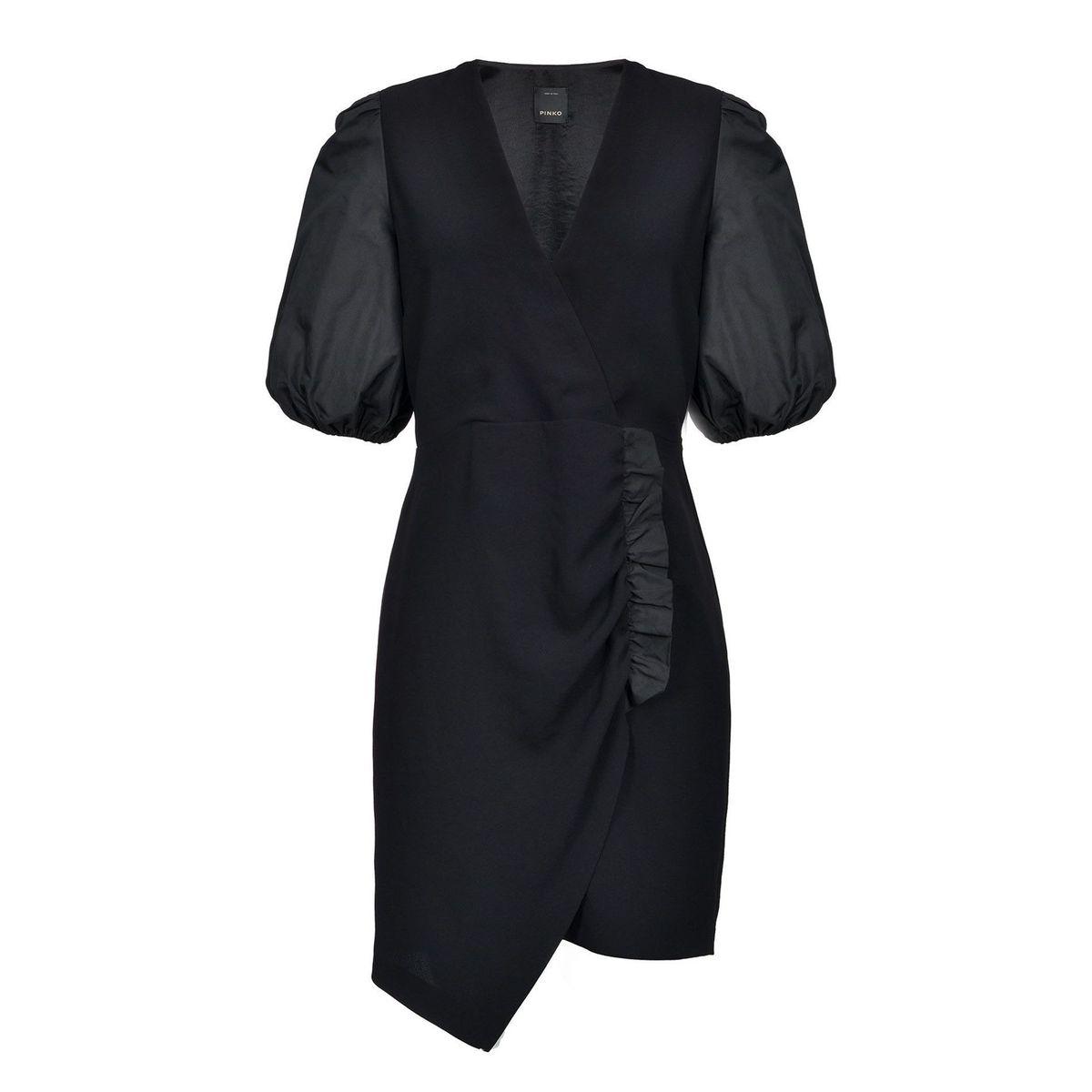 Bardak asymmetrical dress Black Pinko