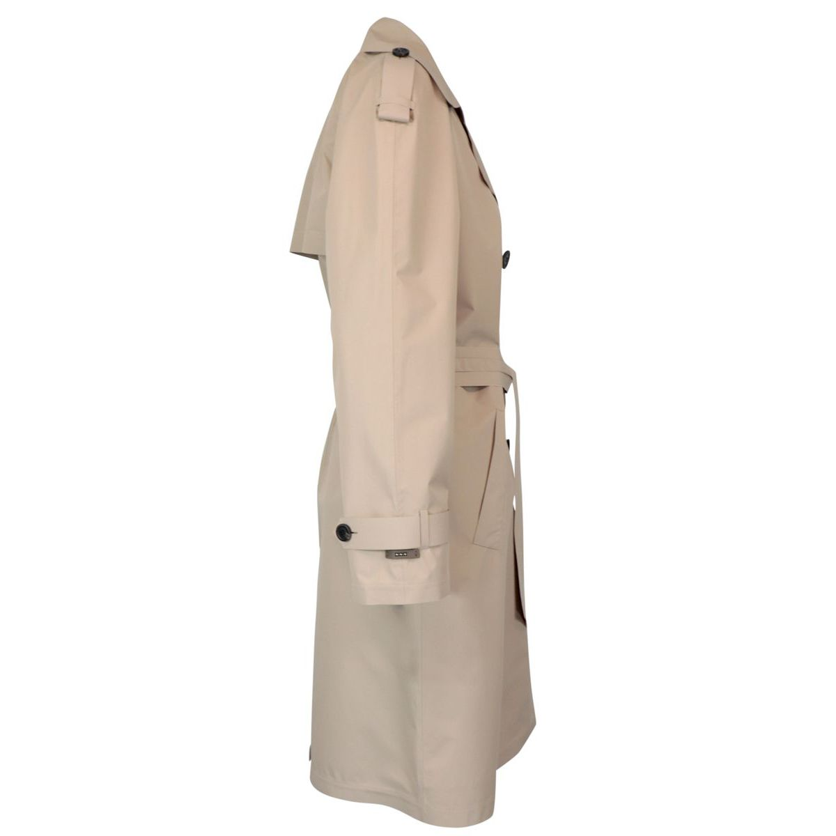 Double-breasted trench coat in ultra-light technical fabric Safari PESERICO