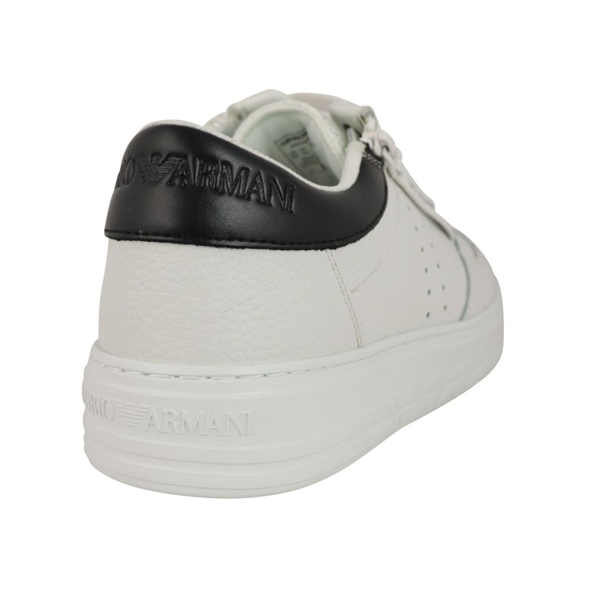 Sneakers with side logo White Emporio Armani