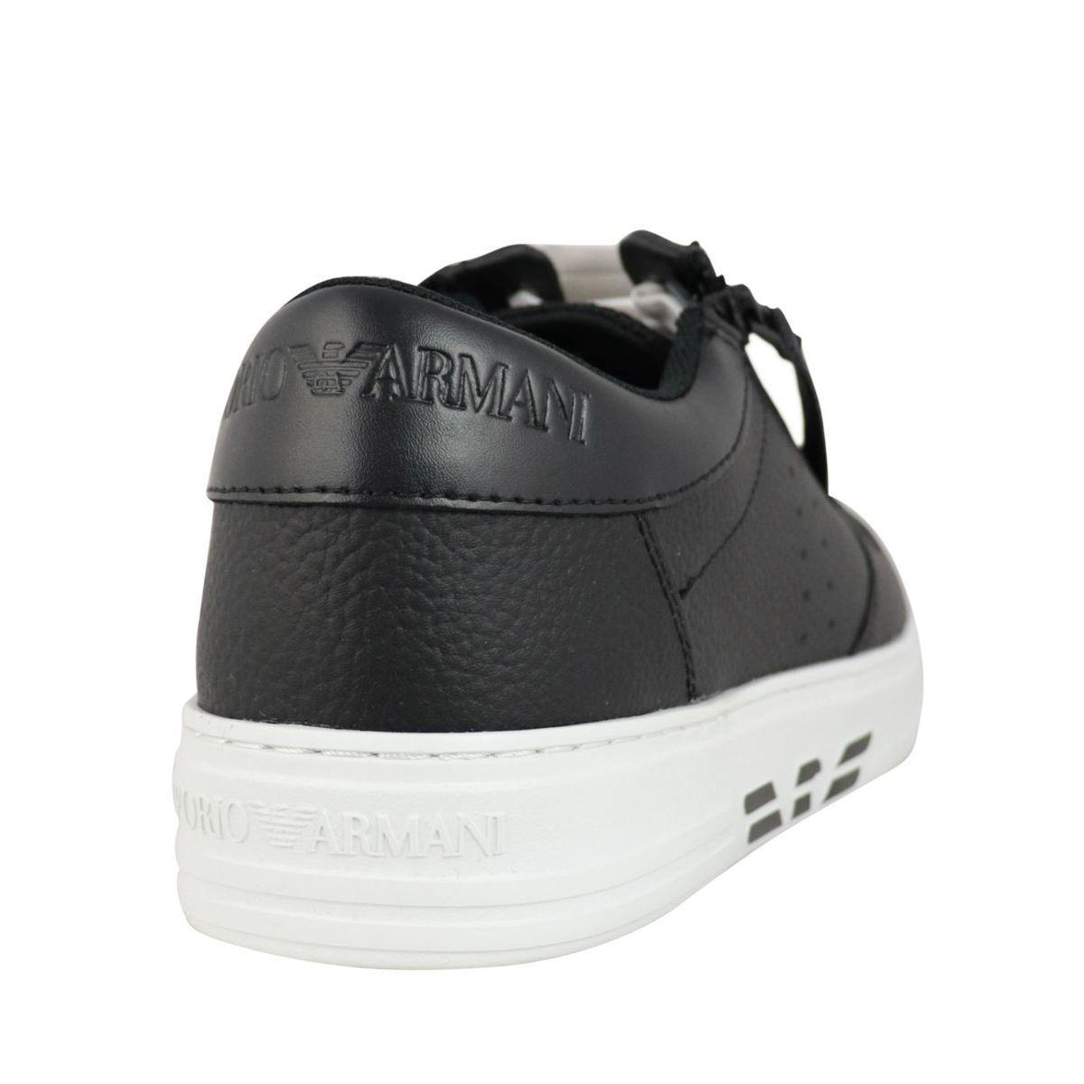 Sneakers with side logo Black Emporio Armani