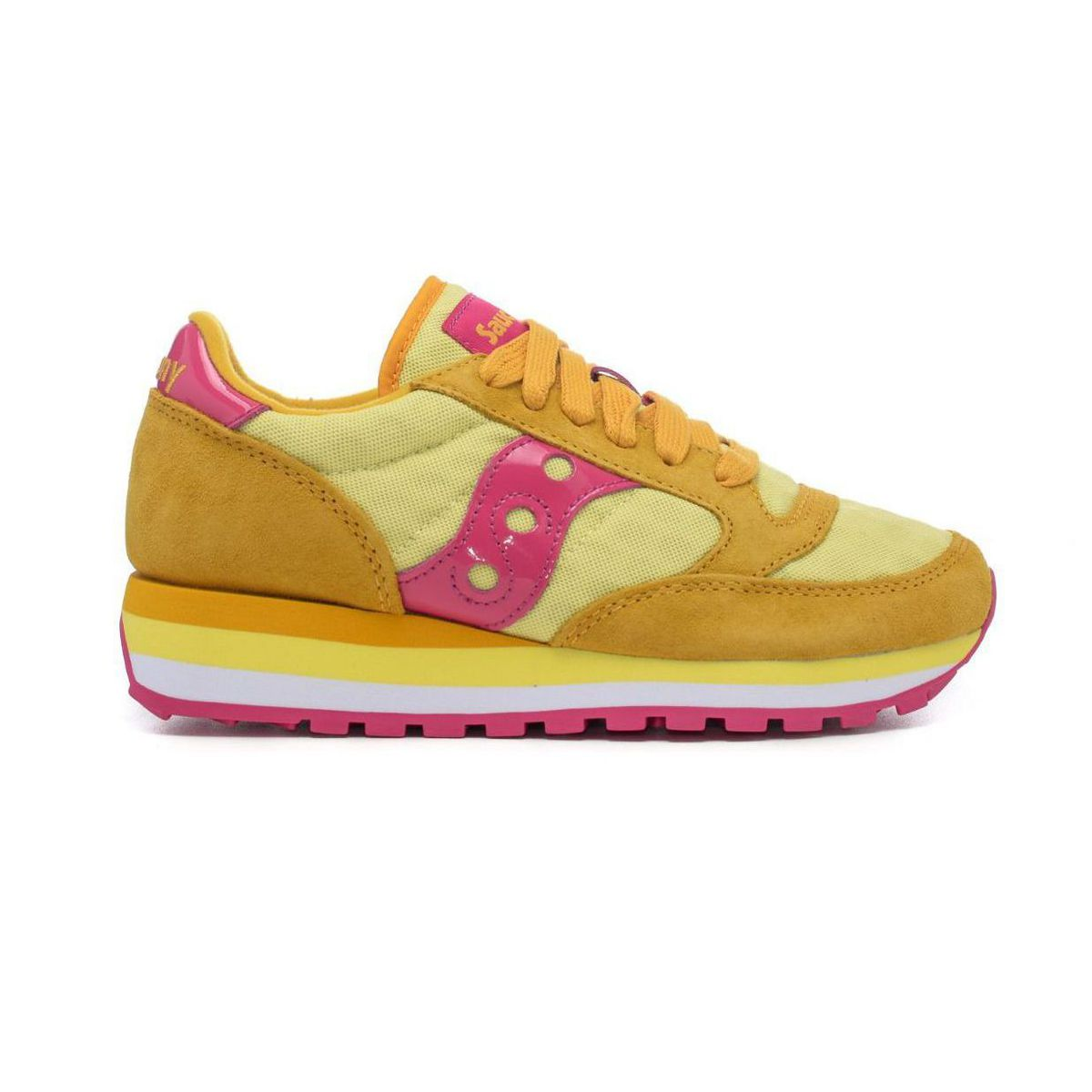 Jazz Triple 60497 sneakers 6 Yellow / fuxsia Saucony