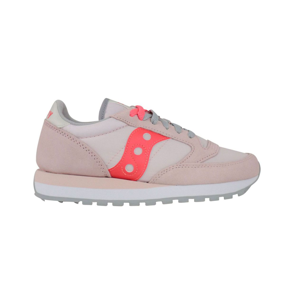 Jazz O W sneakers in suede Rosa / coral Saucony