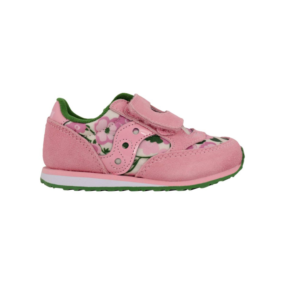 Floral sneakers Baby Jazz HL Pink floral Saucony
