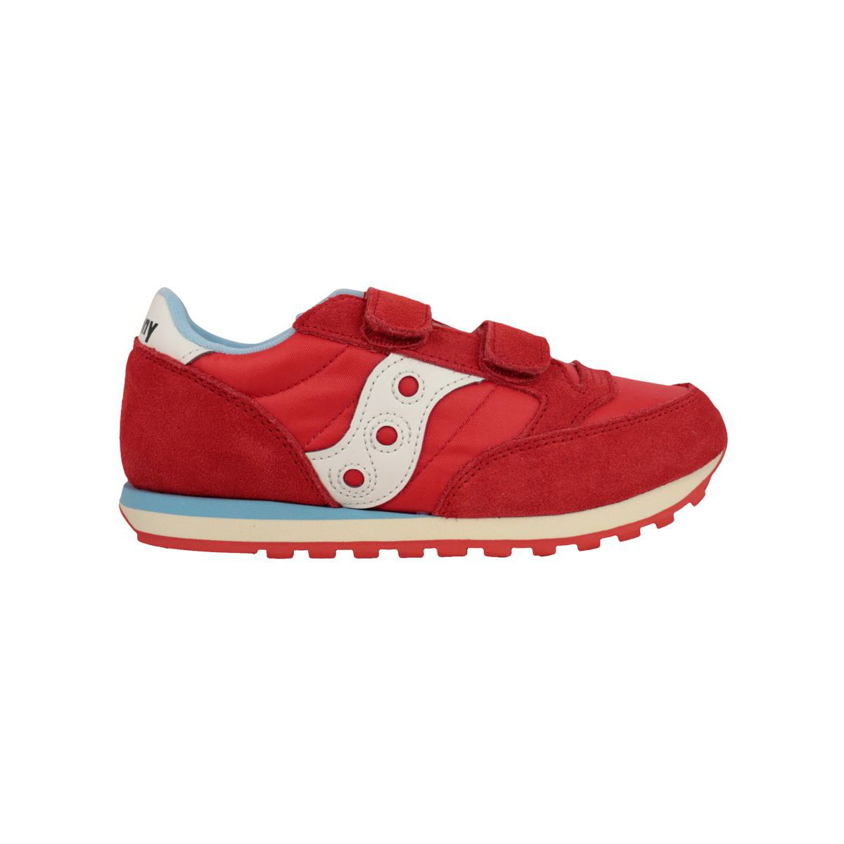 Sneakers with tears Jazz double hl Red Saucony