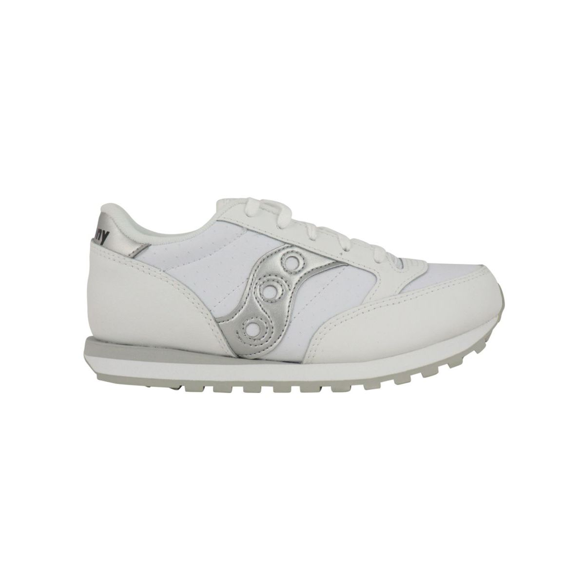 Jazz original kids silver sneakers White / silver Saucony