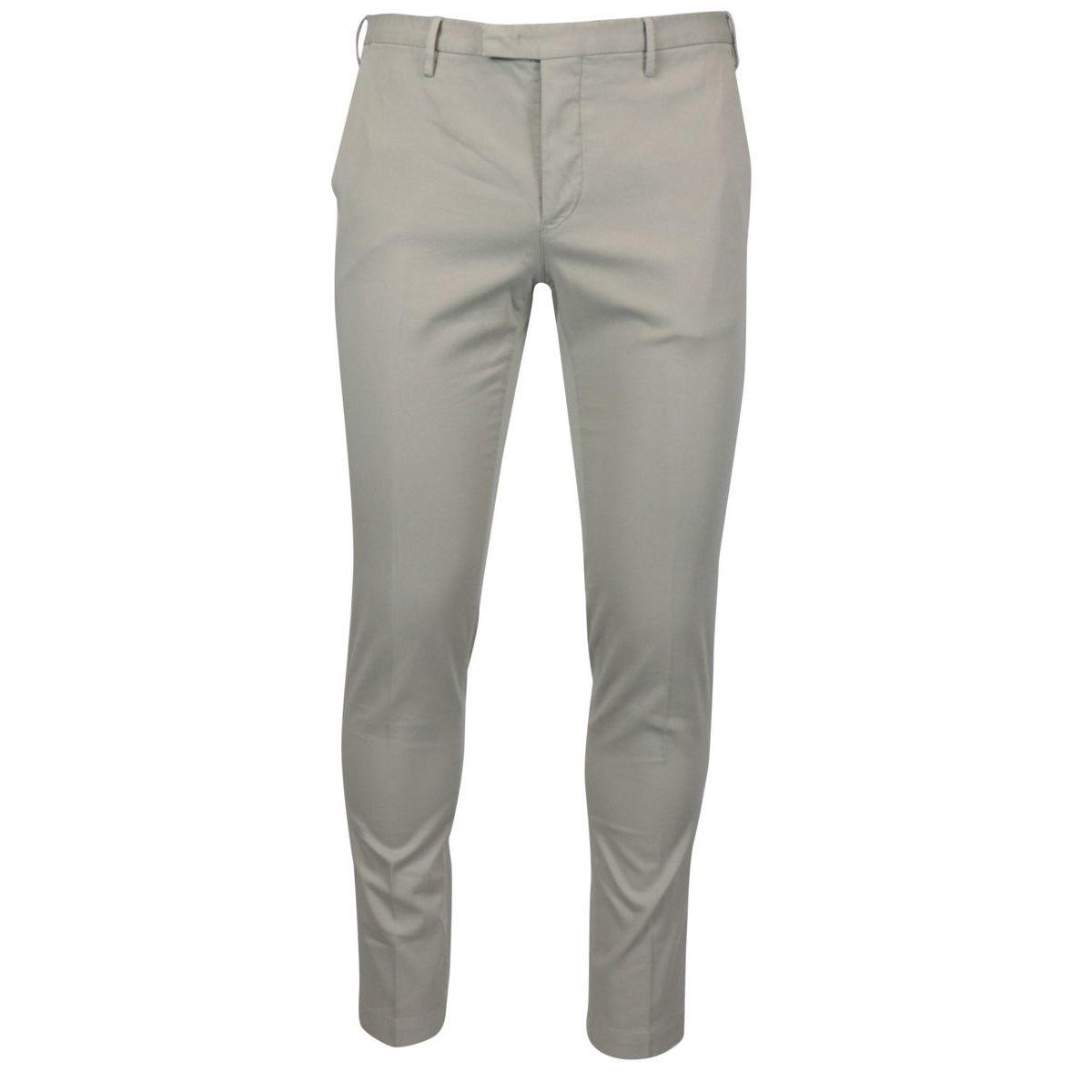 Cotton skinny fit trousers Beige PT TORINO
