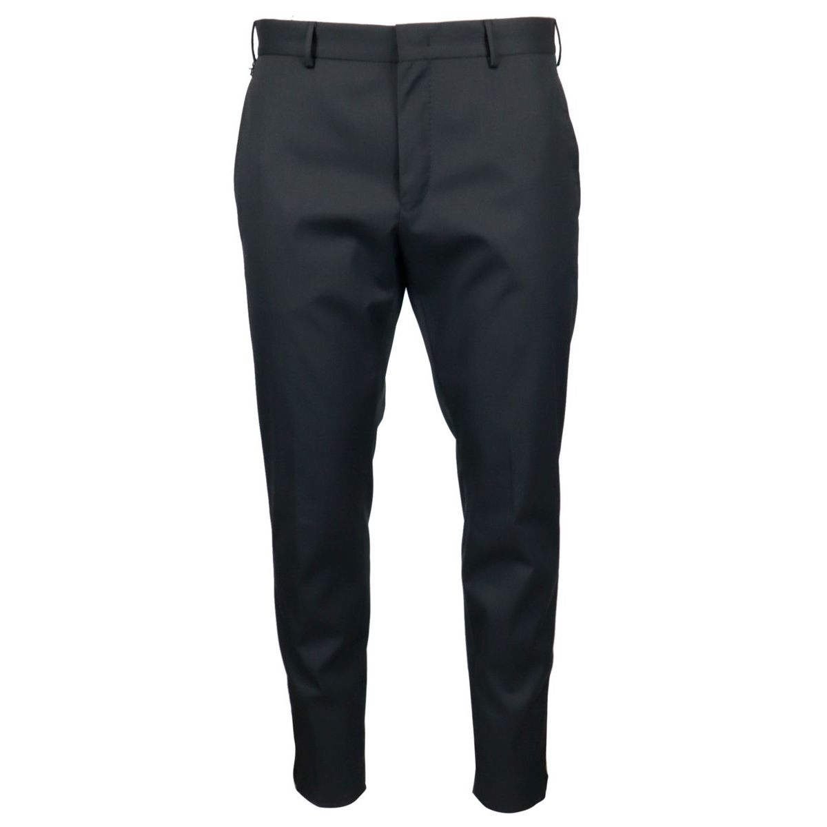 Skinny trousers with ankle zip Black PT TORINO