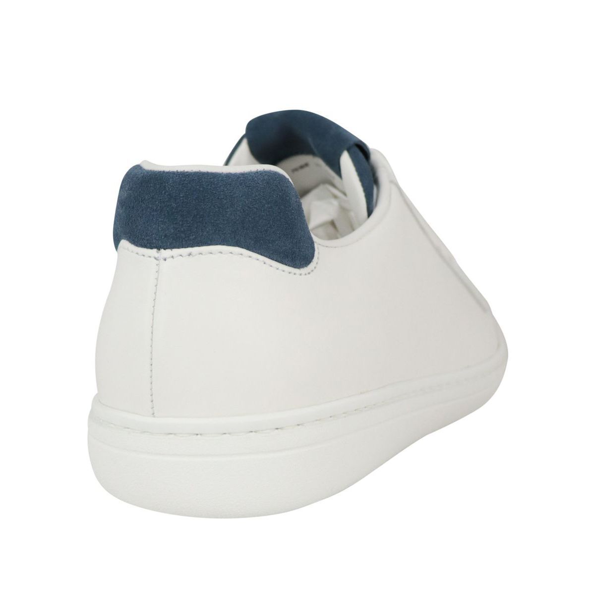 Boland Plus sneakers in leather with suede tongue White / azz. Church's