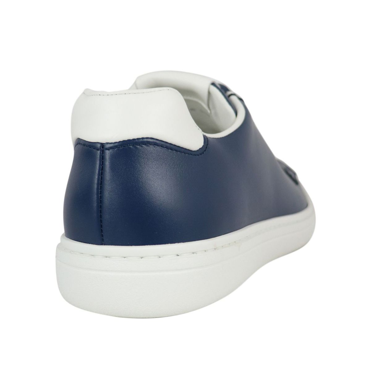 Boland Plus sneakers in two-tone leather Blue / white Church's