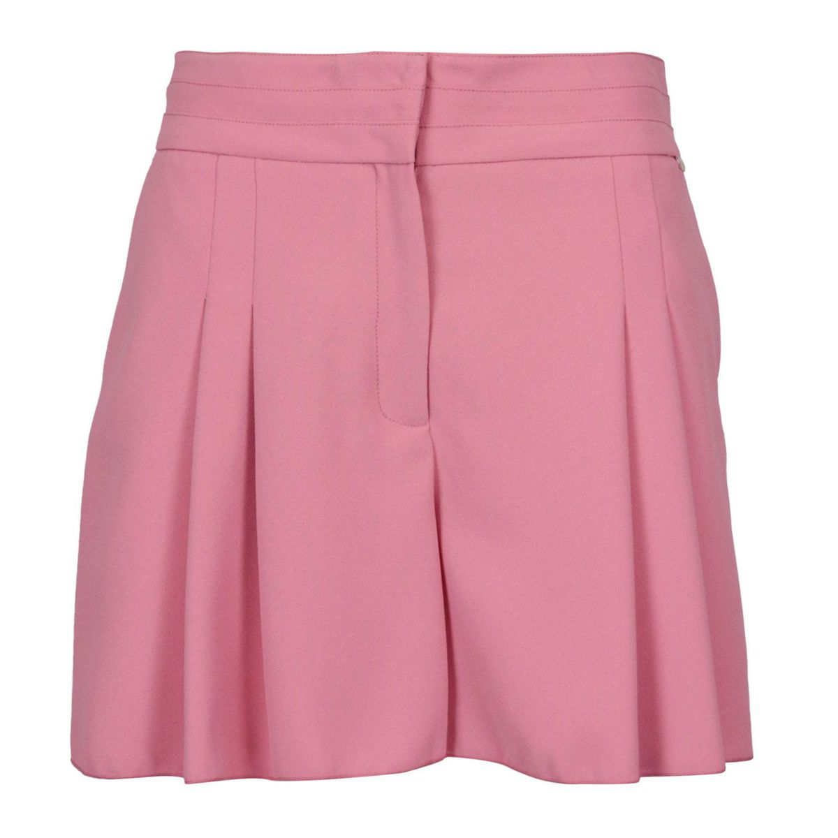 Short Egle in cady with folds and welt pockets Petal Nenette