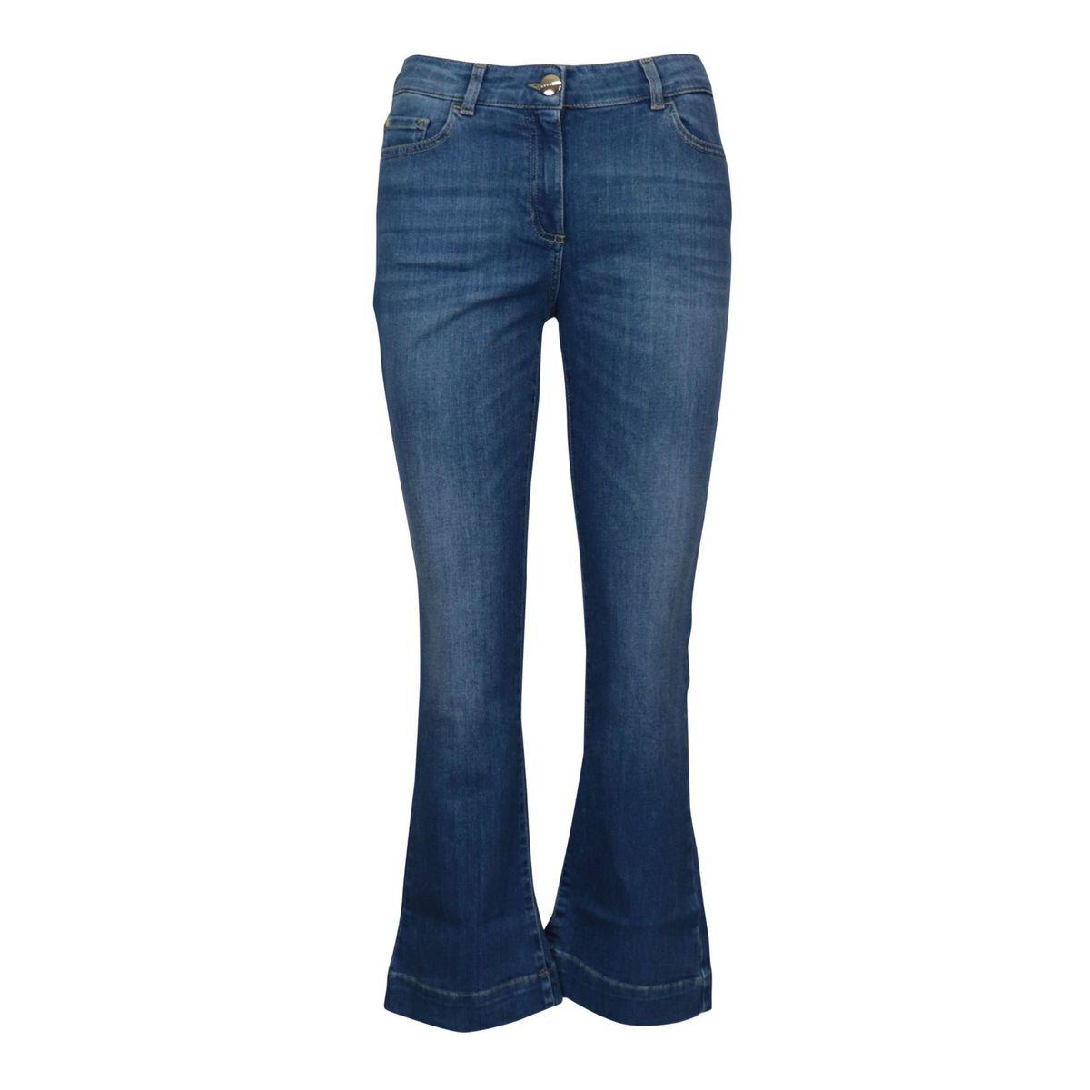 Samu stretch denim jeans with wide bottom Medium denim Nenette