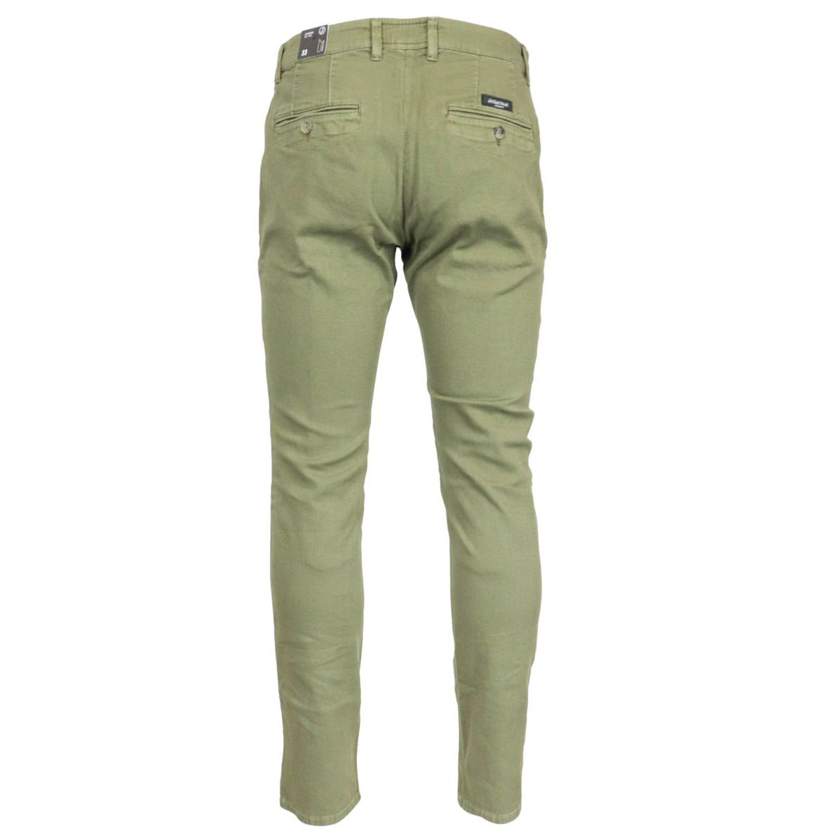 Armored cotton trousers with america pocket Green Jeckerson