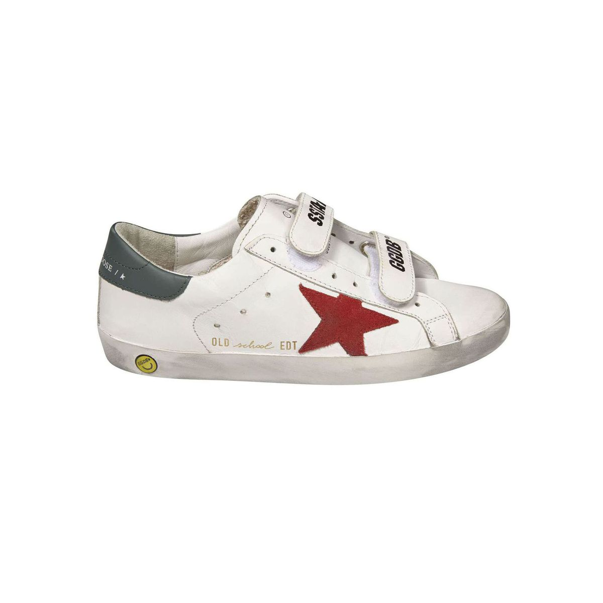 Superstar Old school sneakers in leather with rips White GOLDEN GOOSE