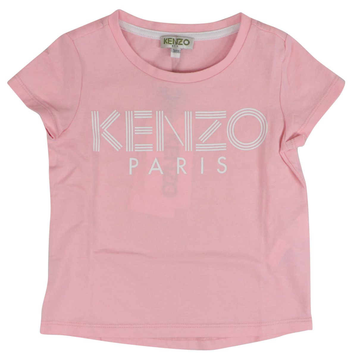 Cotton t-shirt with logo print Antique pink Kenzo