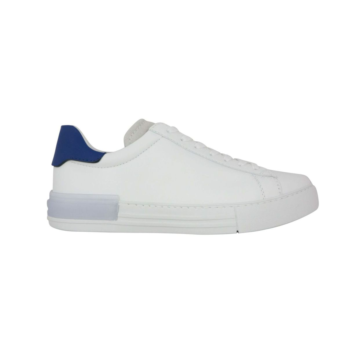 Leather sneakers with box bottom White Hogan