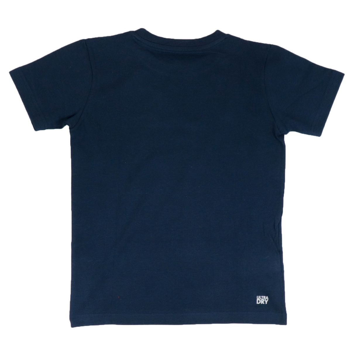 Ultra-Dry cotton blend T-shirt with small logo Blue Lacoste