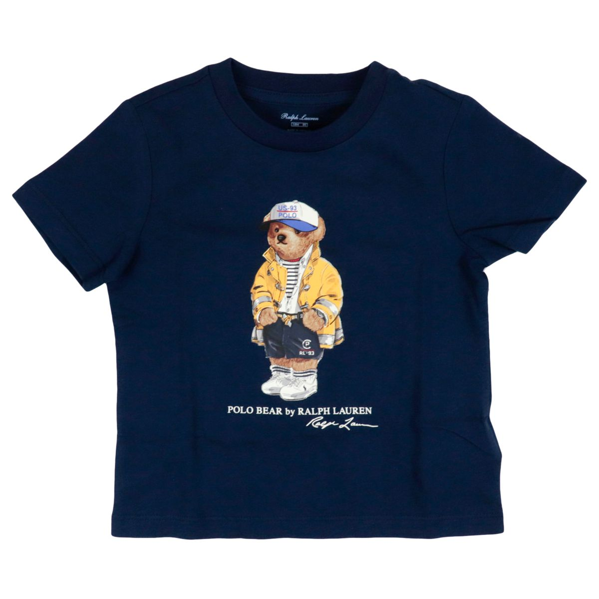 Bear printed cotton T-shirt Navy Polo Ralph Lauren