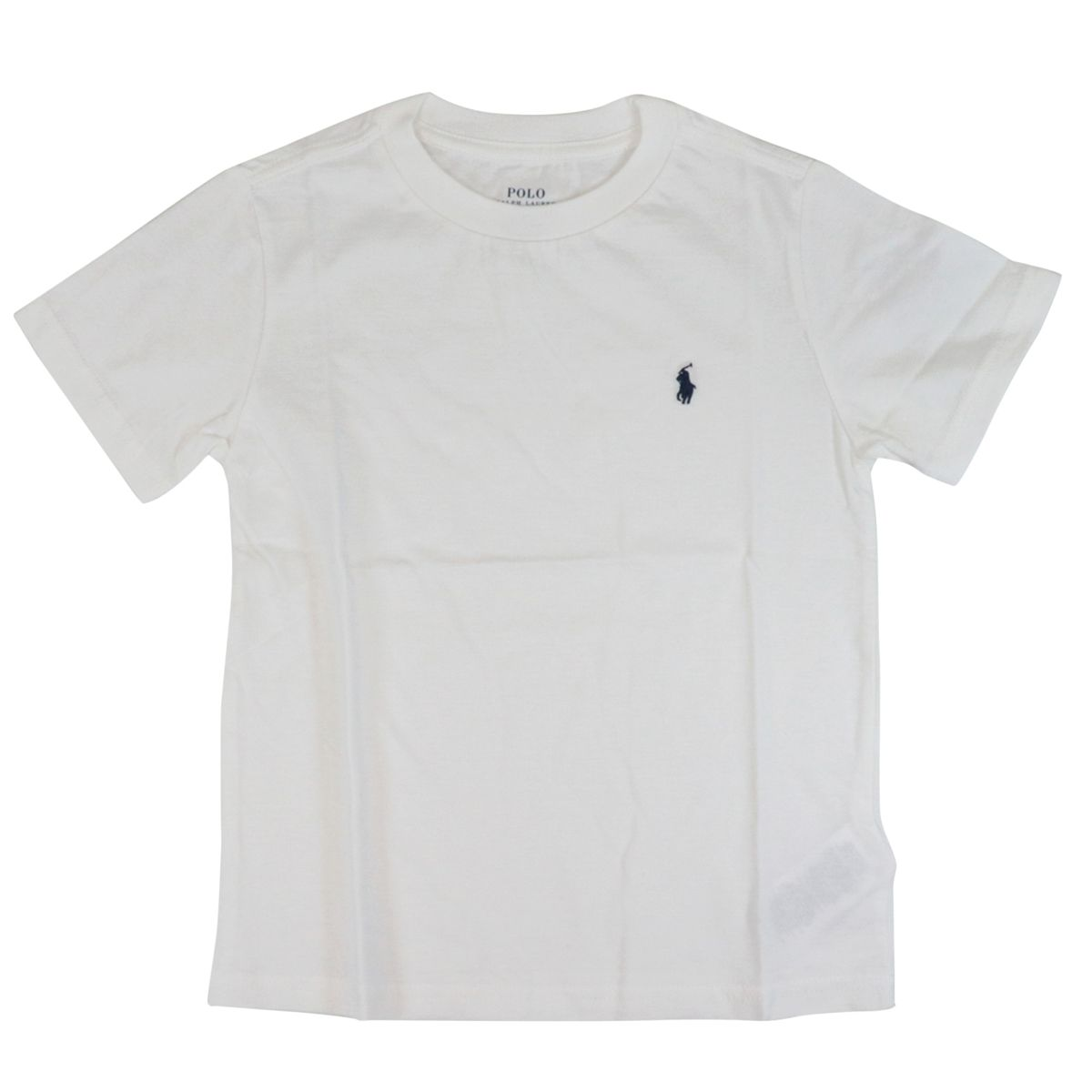 Cotton t-shirt with front logo embroidery White Polo Ralph Lauren