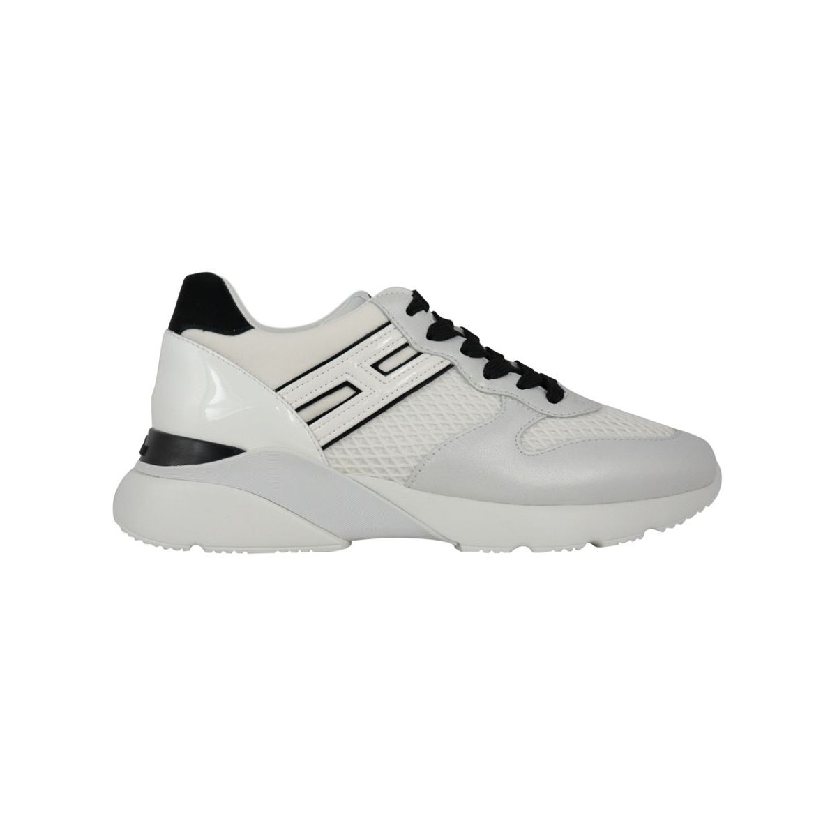 Active One sneakers in leather H385 White Hogan