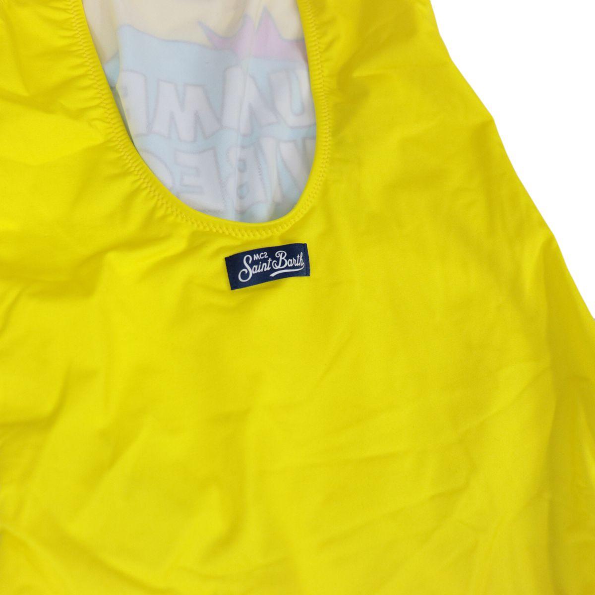 Cara summer swimsuit vibes pop 91 Yellow MC2 Saint Barth