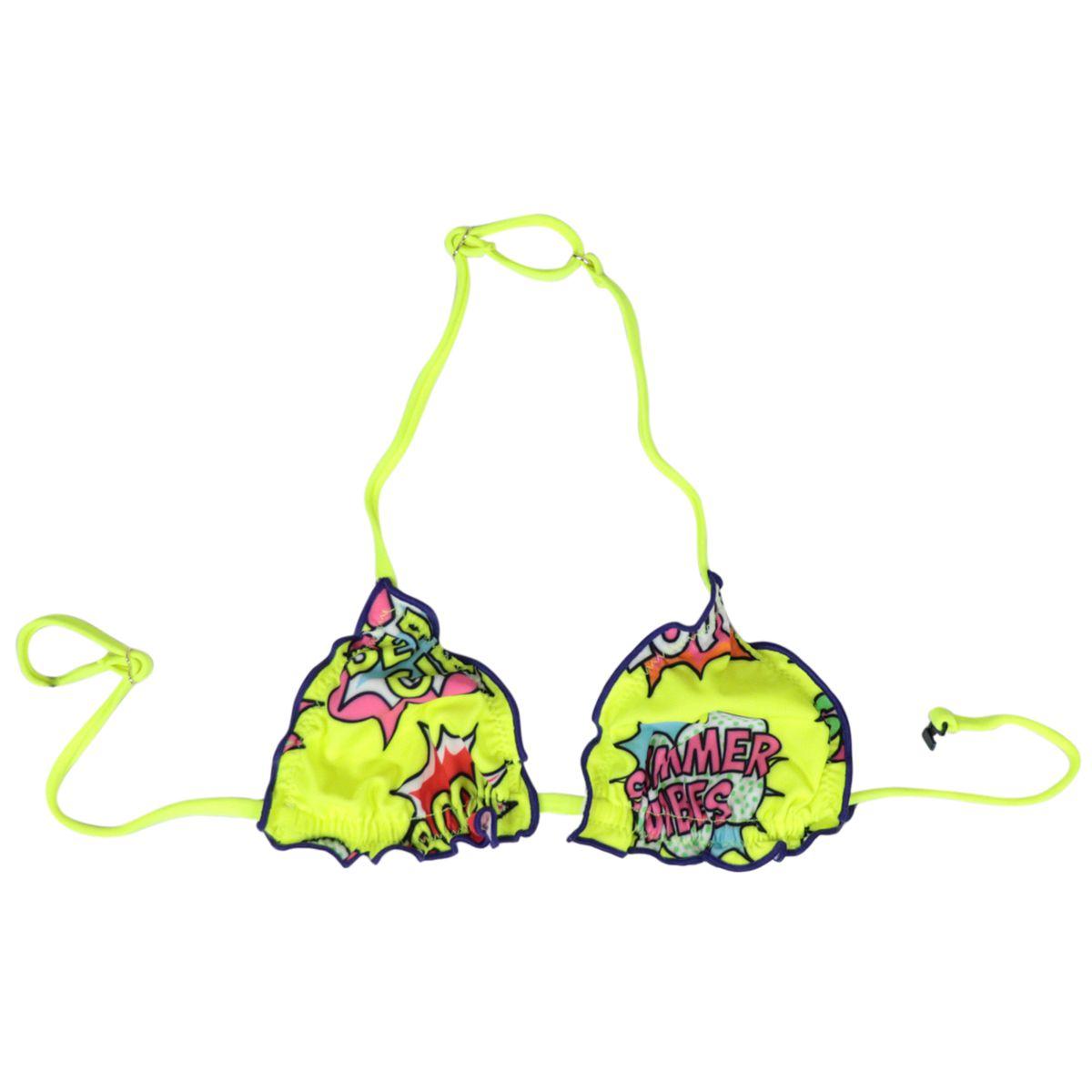 Bikini Cris pop comics 94 Fluo yellow MC2 Saint Barth