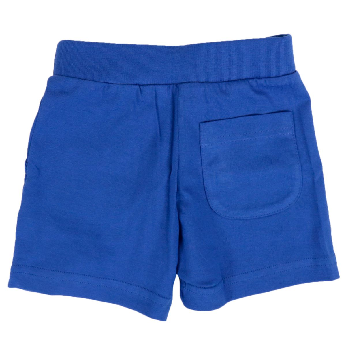 Cotton bermuda with applied logo Bluette Diesel